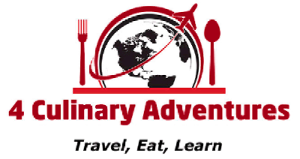 Logo for 4 Culinary Adventures: Travel, Eat, Learn