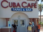 Entrance to Cuba Cafe Tapas & Bar